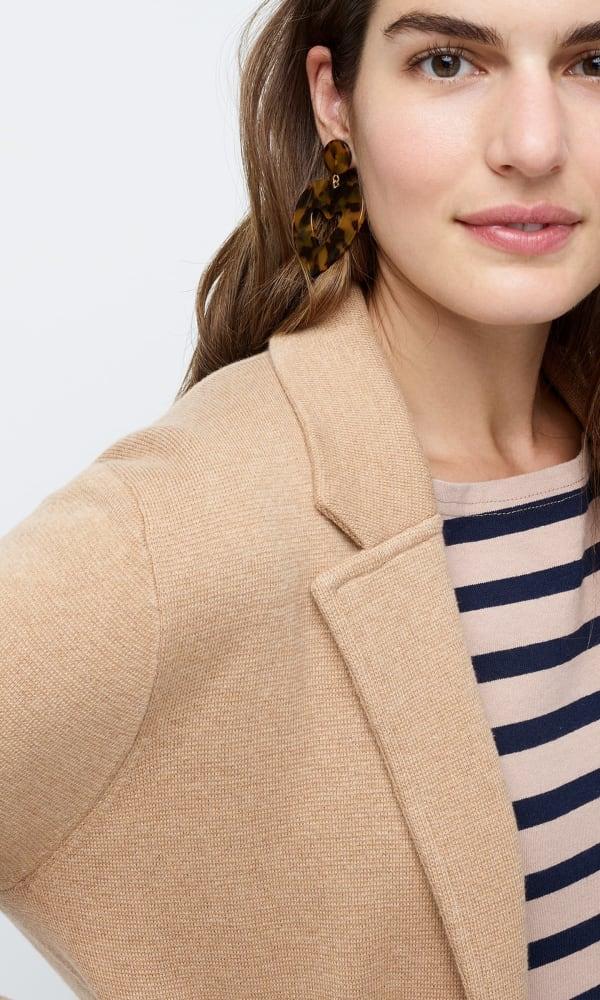 woman in blazer