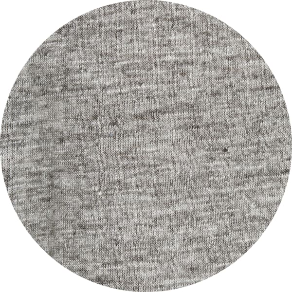 Gray linen t-shirt fabric