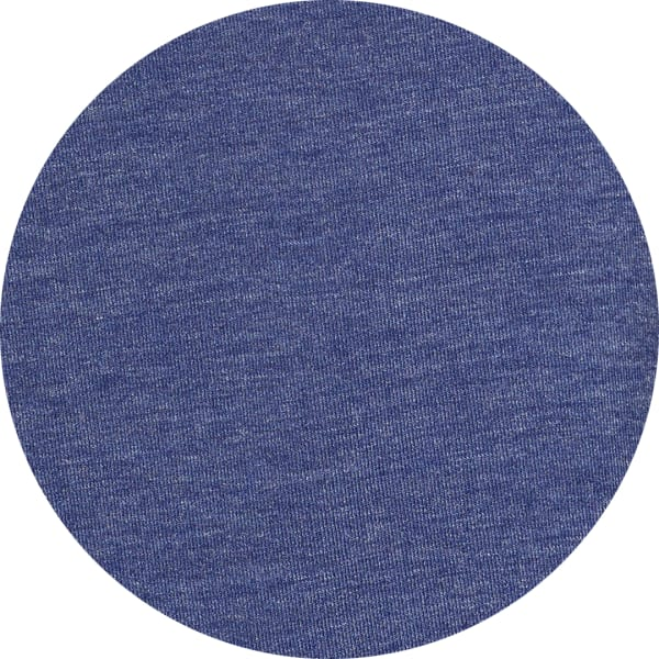 Blue polyester fabric t-shirt