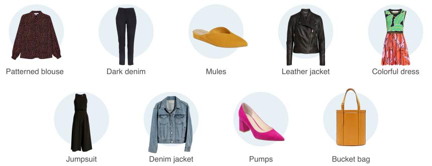 Capsule items