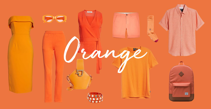 favorite color is orange