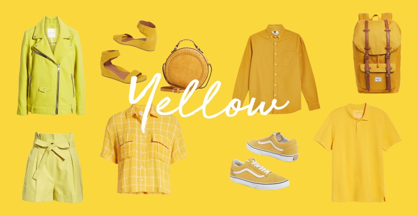 favorite color is yellow