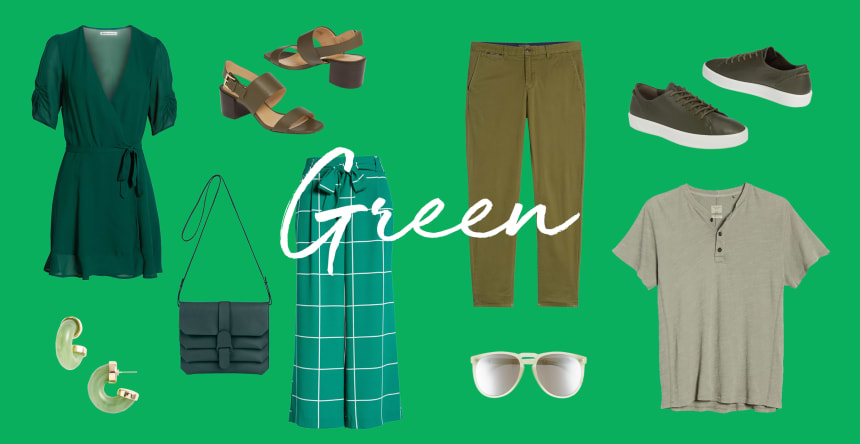 favorite color is green