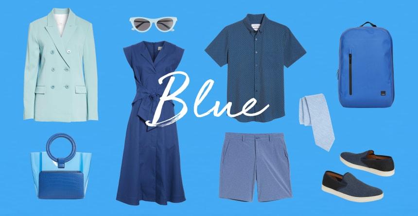 favorite color is blue