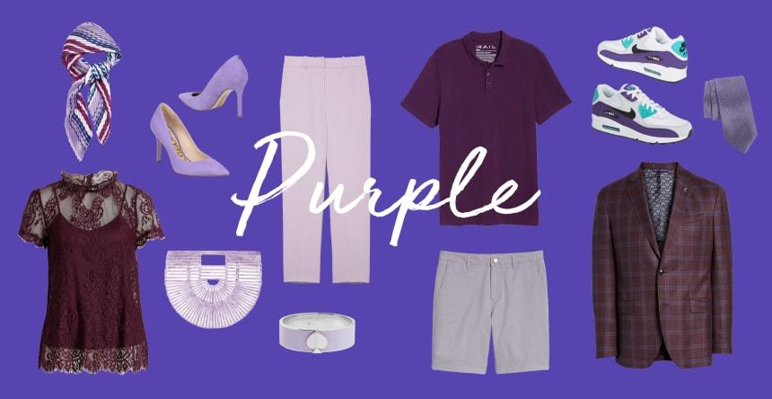 favorite color is purple