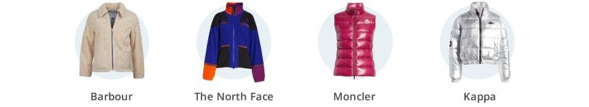 Women's fleece and puffer coats