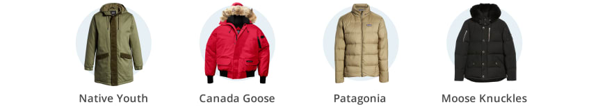 Men's heavy winter coats