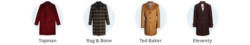 Men's winter topcoats