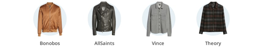 Men's lightweight winter coats