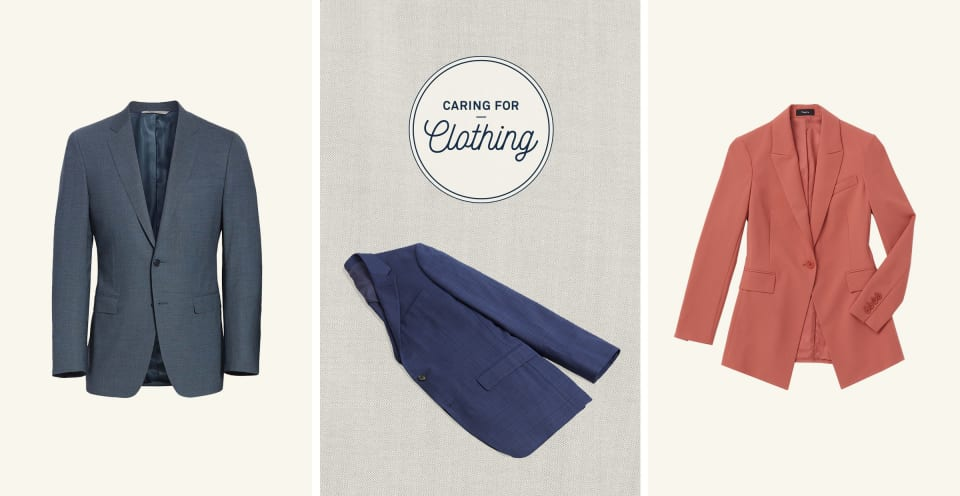 Caring for Clothing: Suits