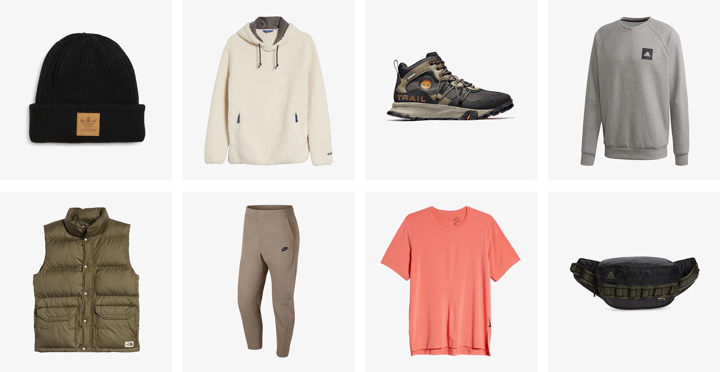 Men's activewear for winter.