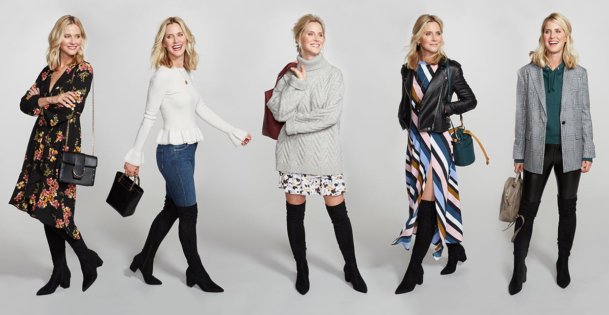 Over-the-Knee Boots, 5 Ways