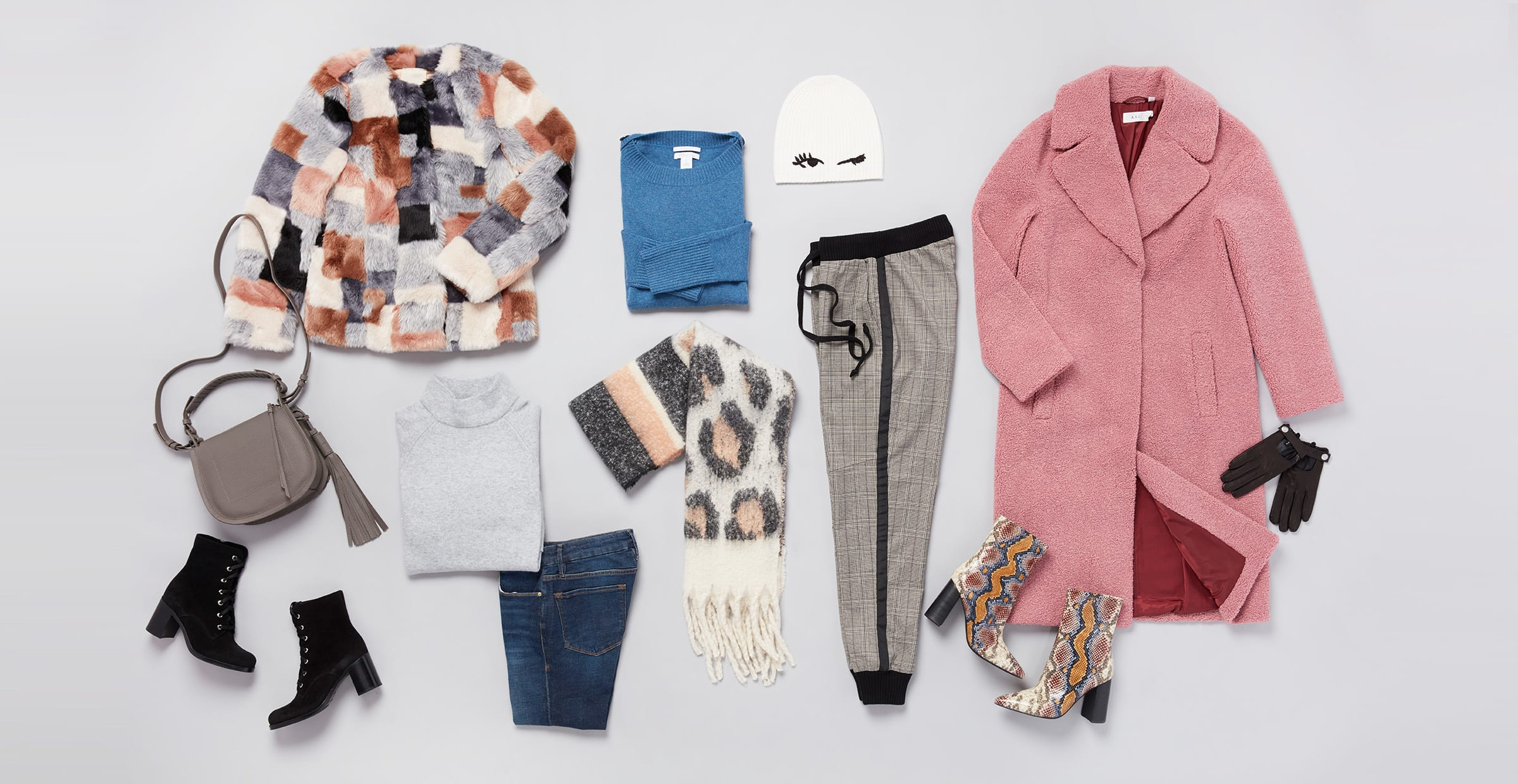 Trendy winter clothing