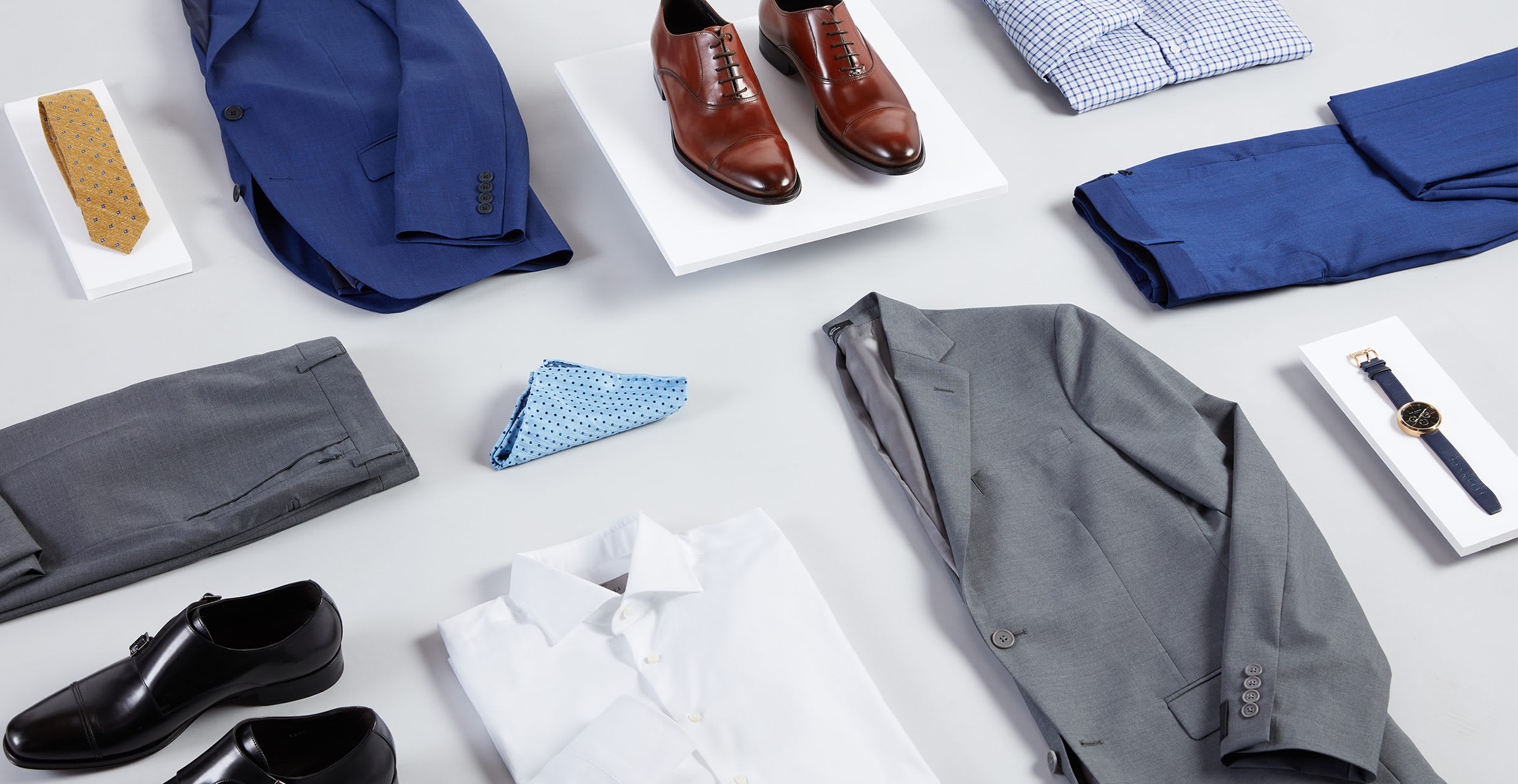 business formal essential items