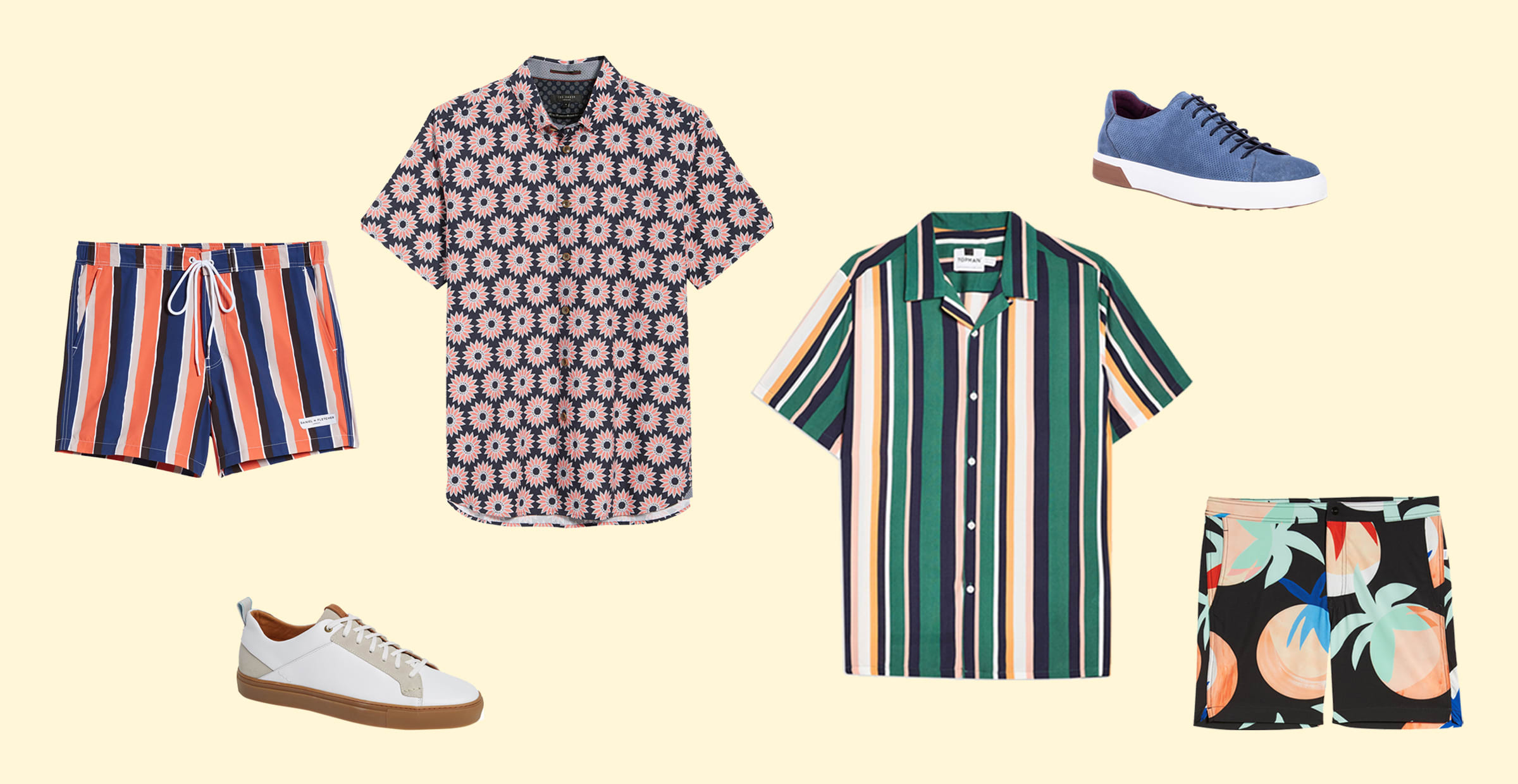 Easy-to-Wear Men's Summer Fashion Trends for 2019