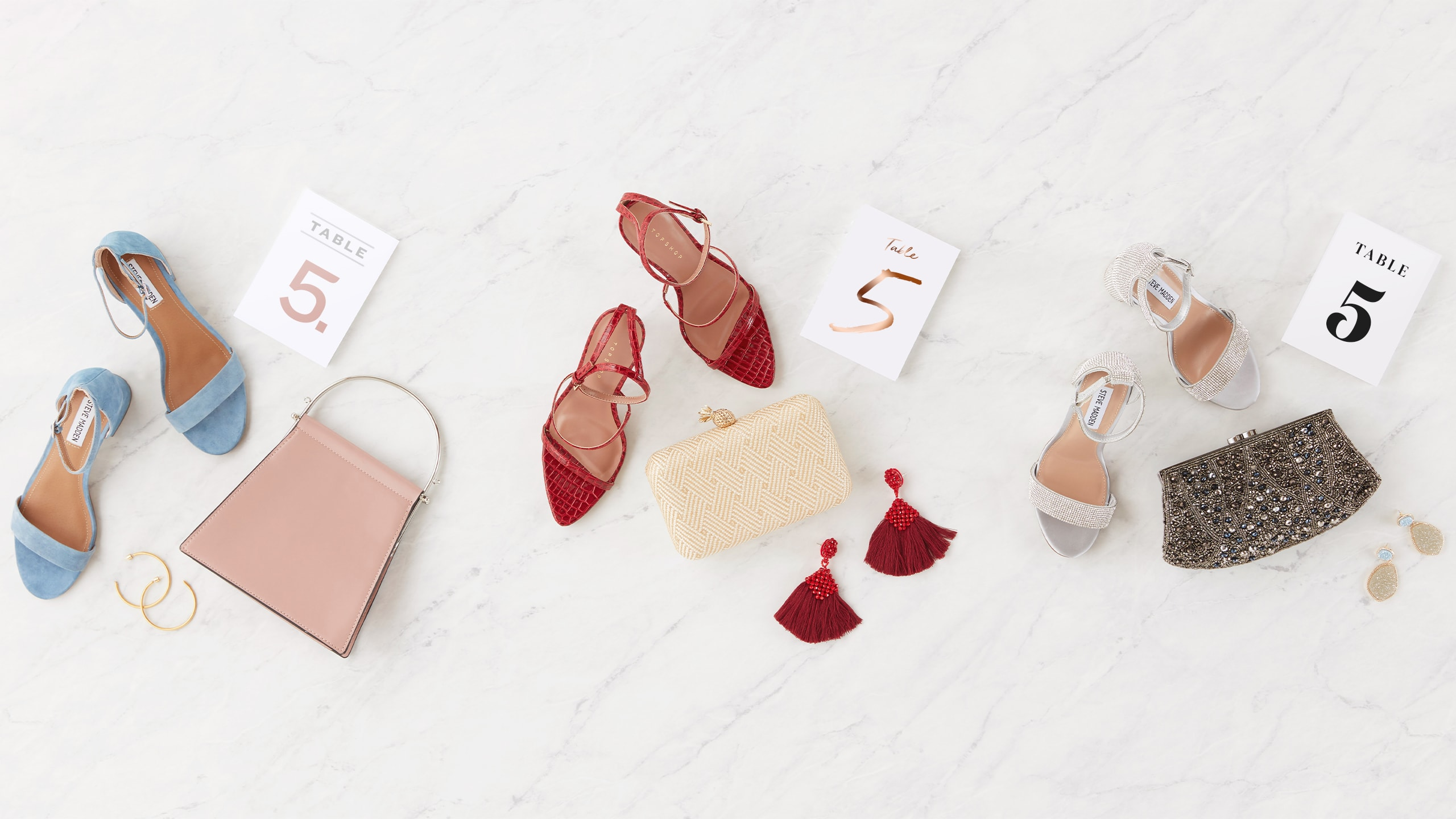 wedding guest shoes and accessories