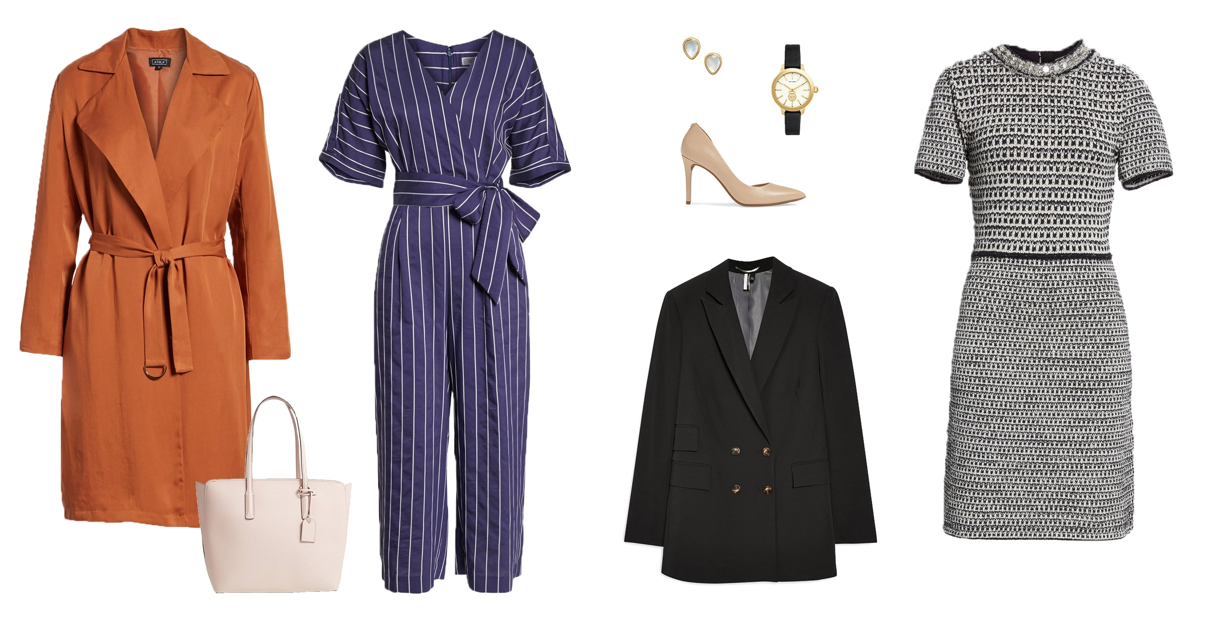Interview outfit pieces