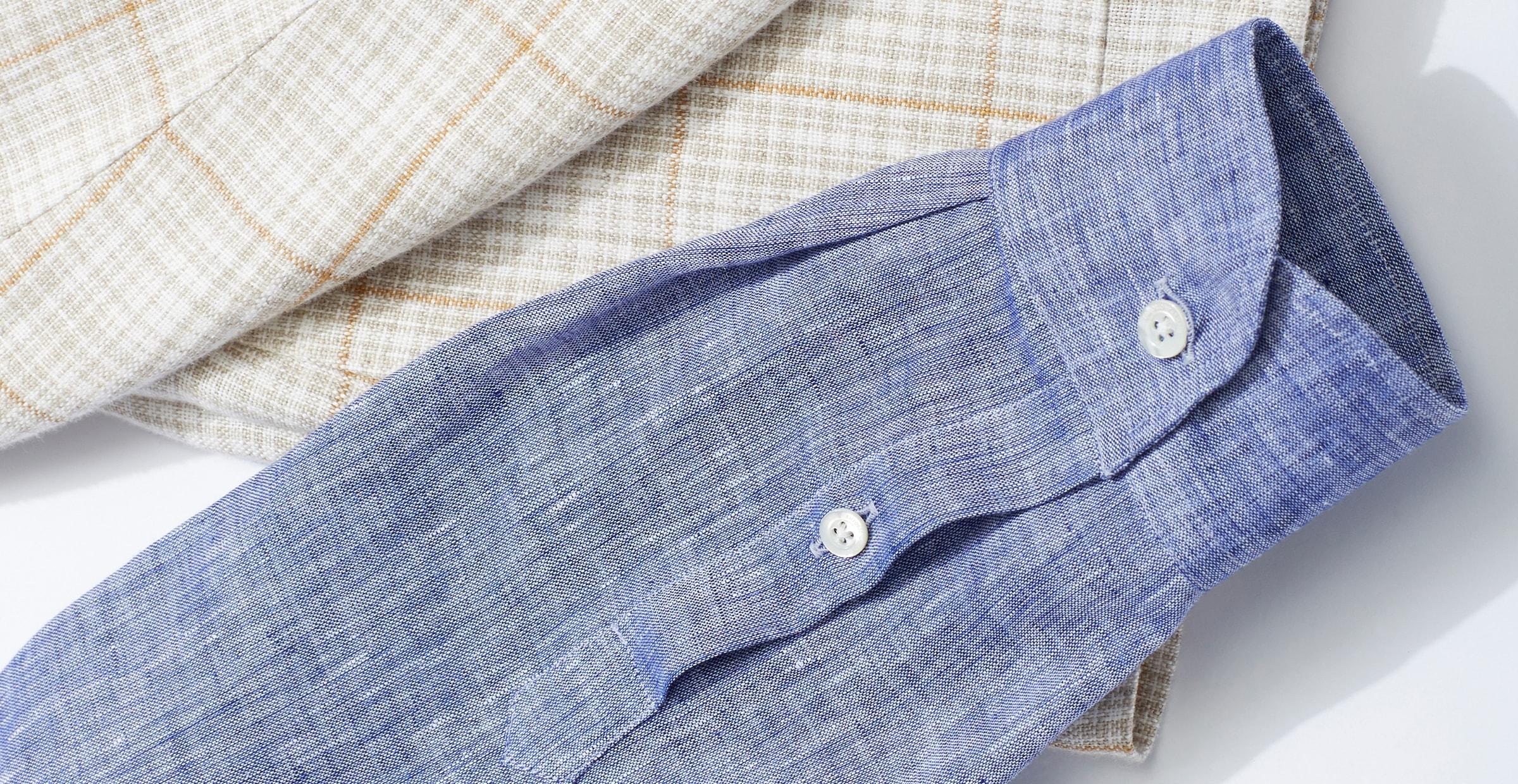 Breathable shirt fabrics for men