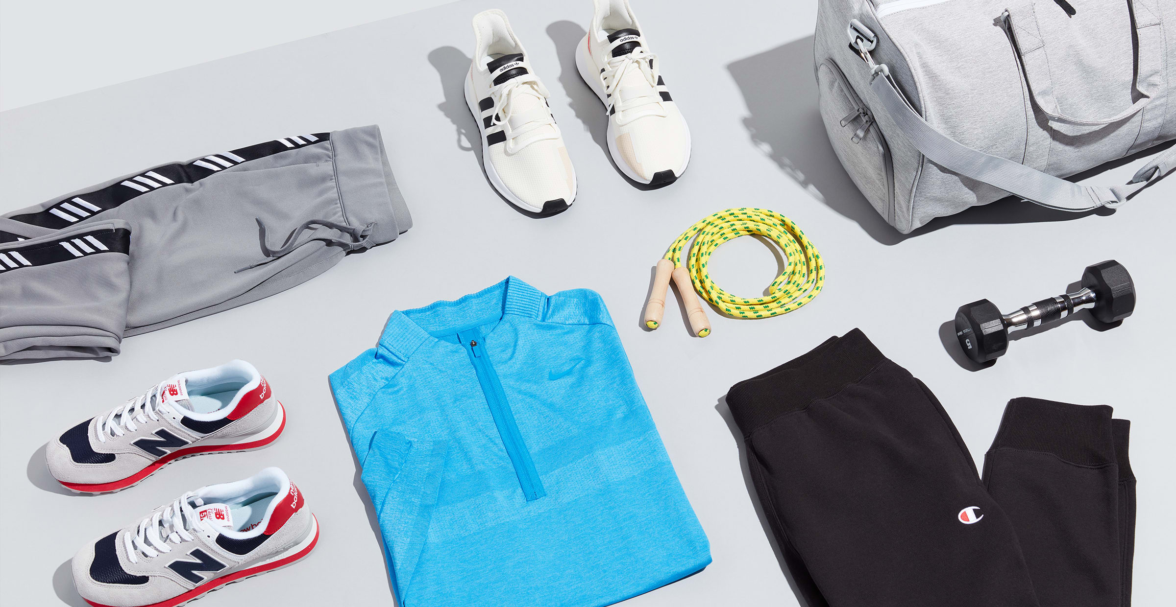 Men's activewear outfit