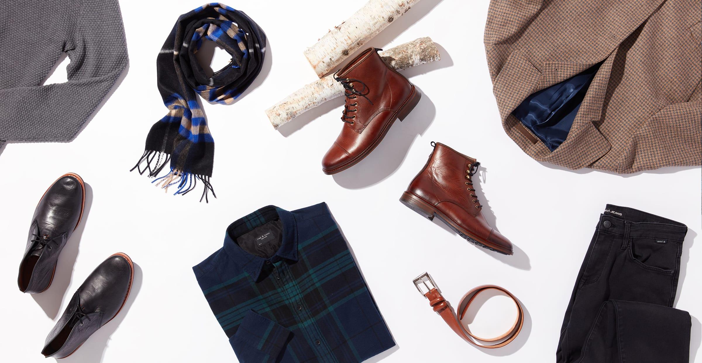 Winter essentials for men