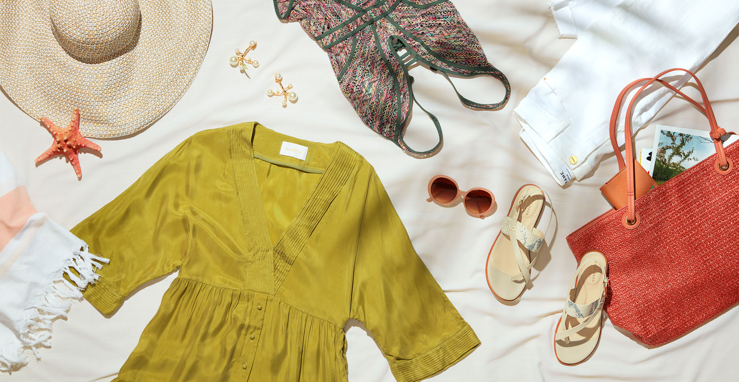 Women's spring vacation outfits