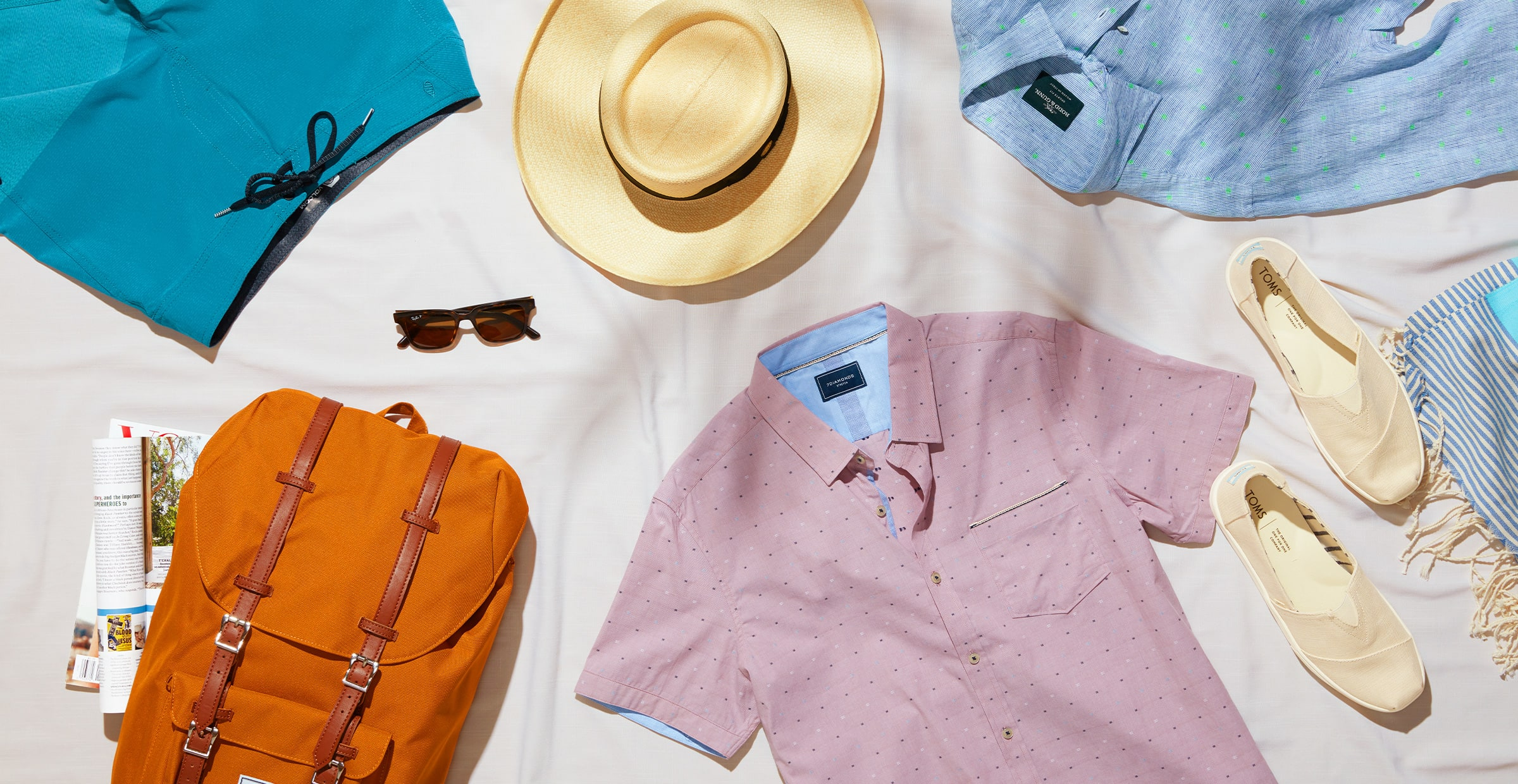 Men's vacation outfits