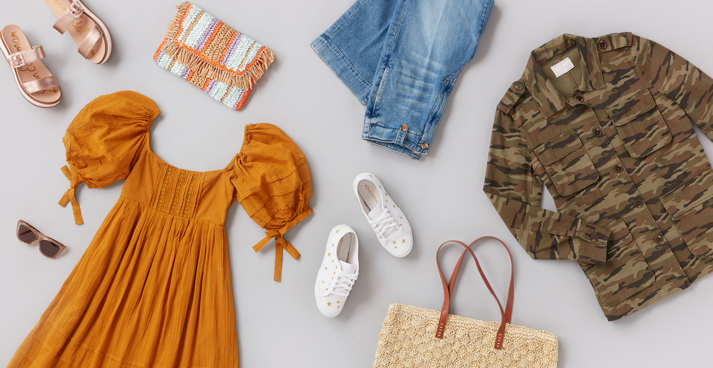 Women's casual spring clothes