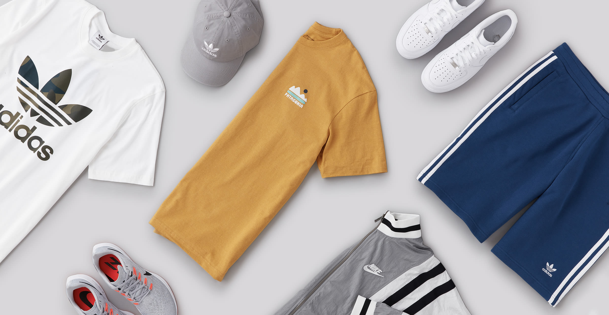 Men's Adidas workout outfit