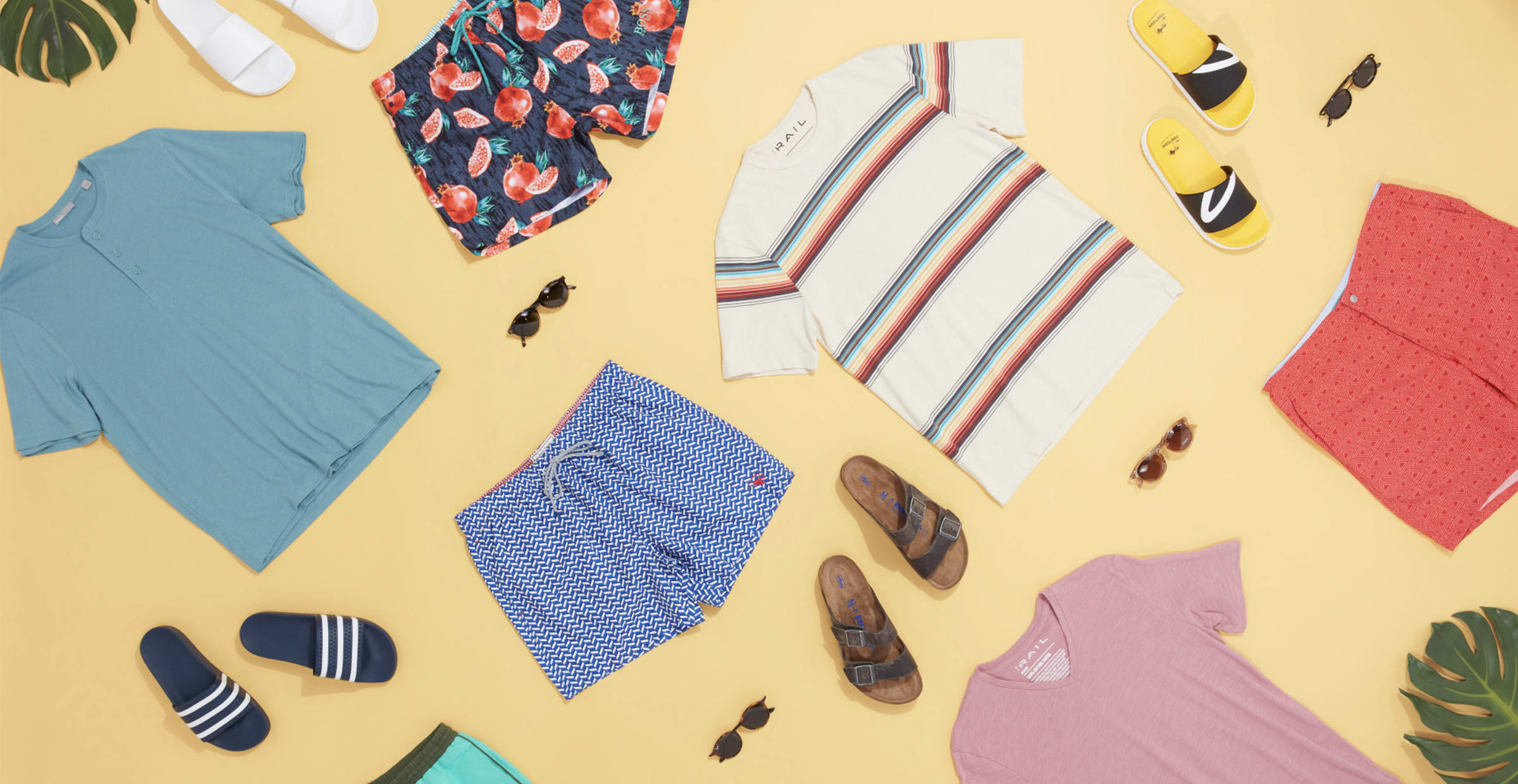Men's summer shorts outfits