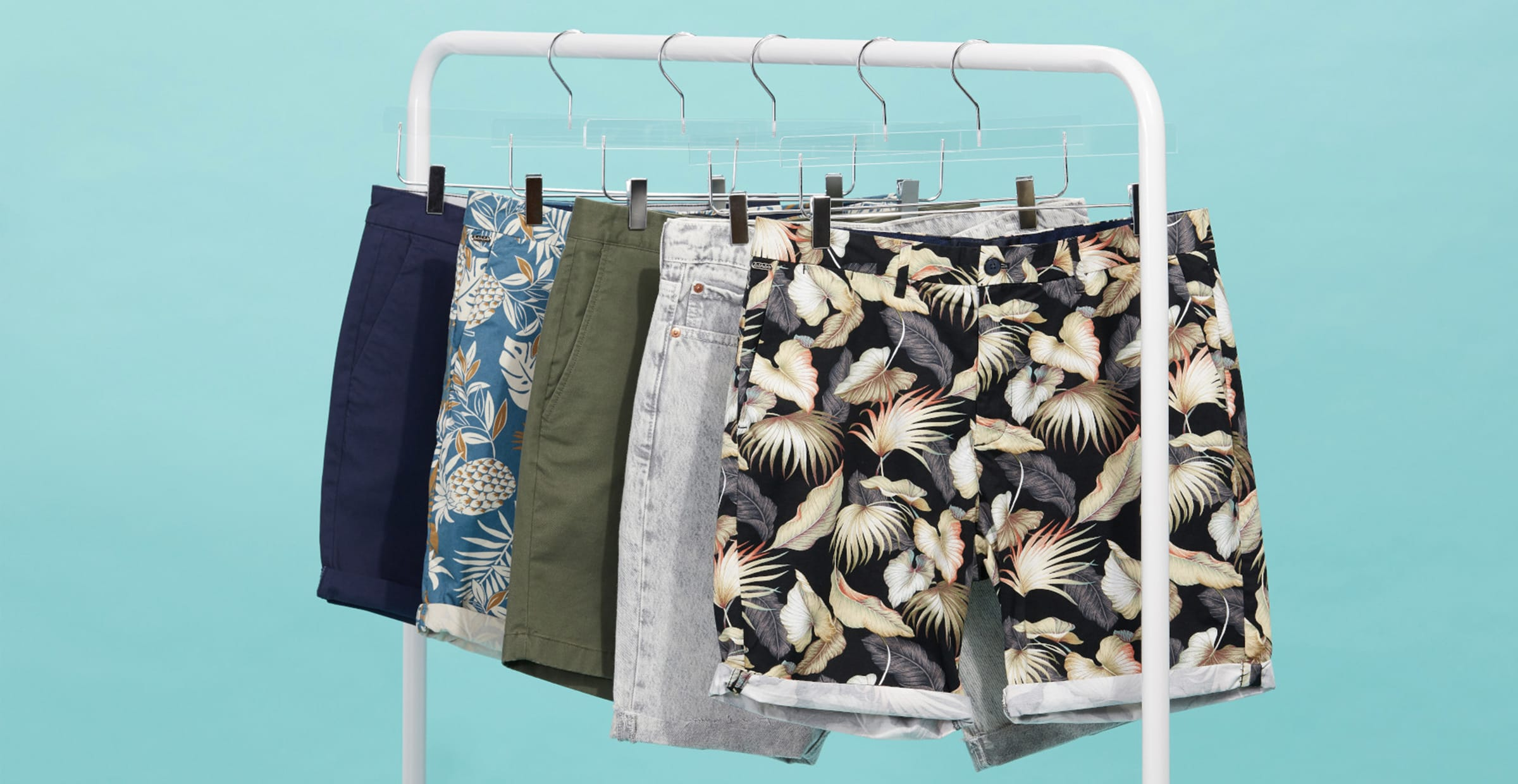 Men's shorts in different styles