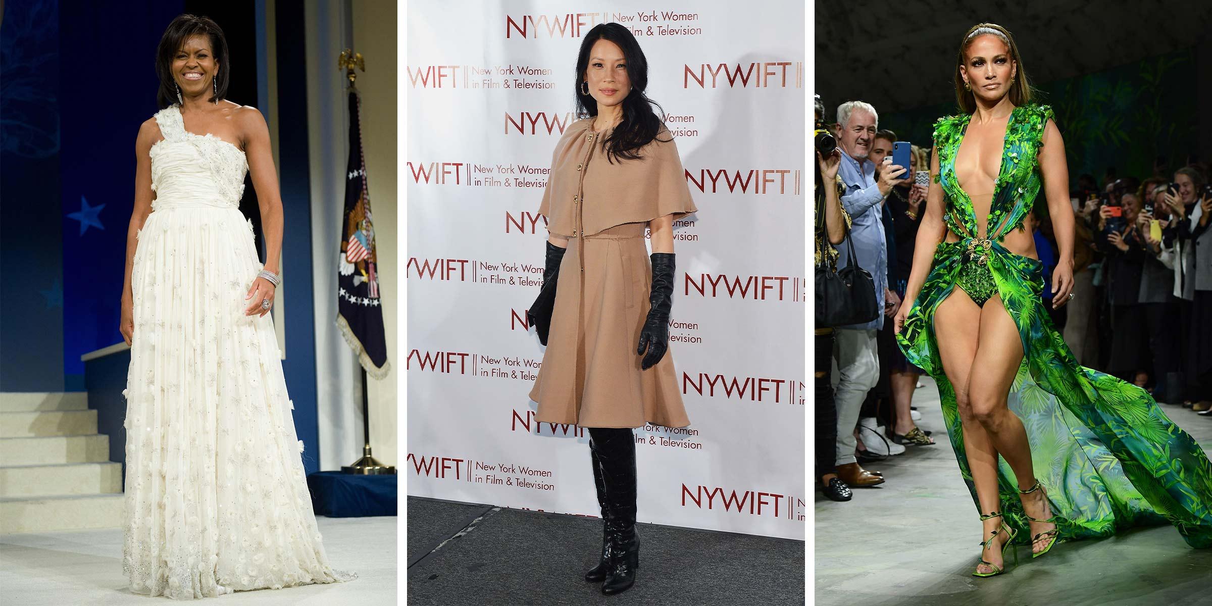 Michelle Obama, Lucy Liu and Jennifer Lopez featured