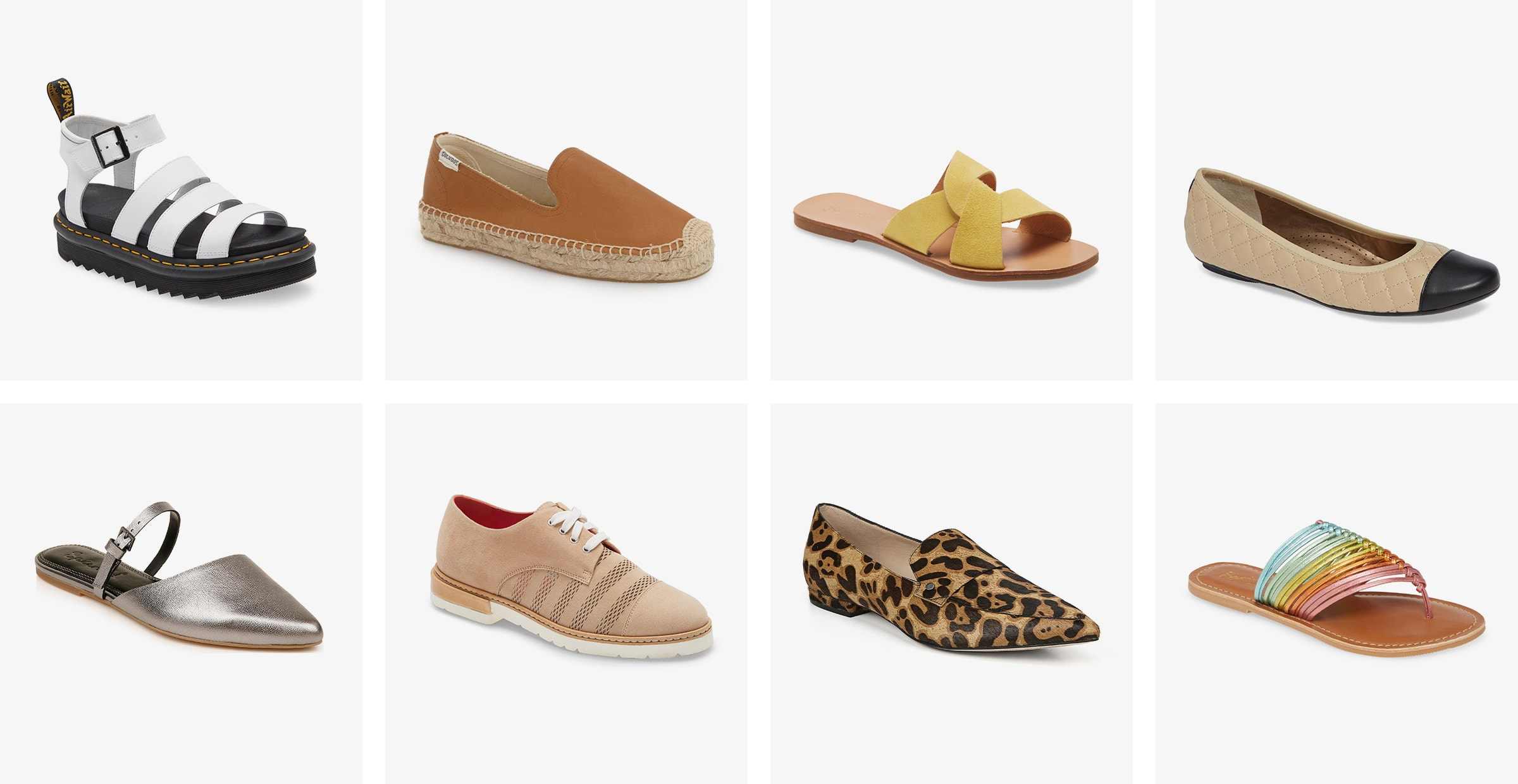 Women's flat shoe collection