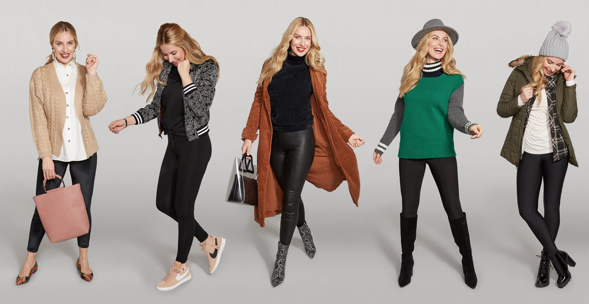 Black Leggings, 5 Ways