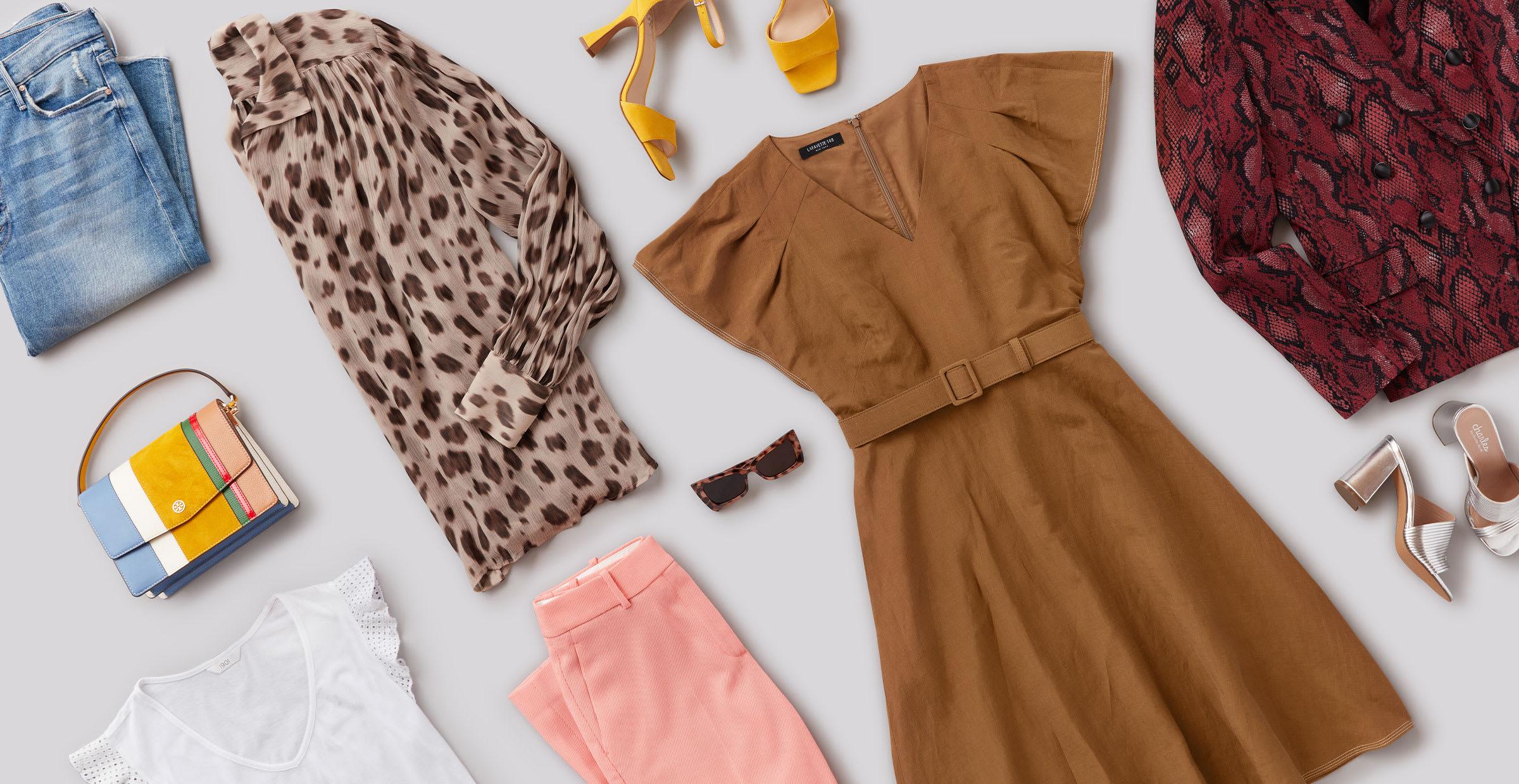 colorful wardrobe for winter