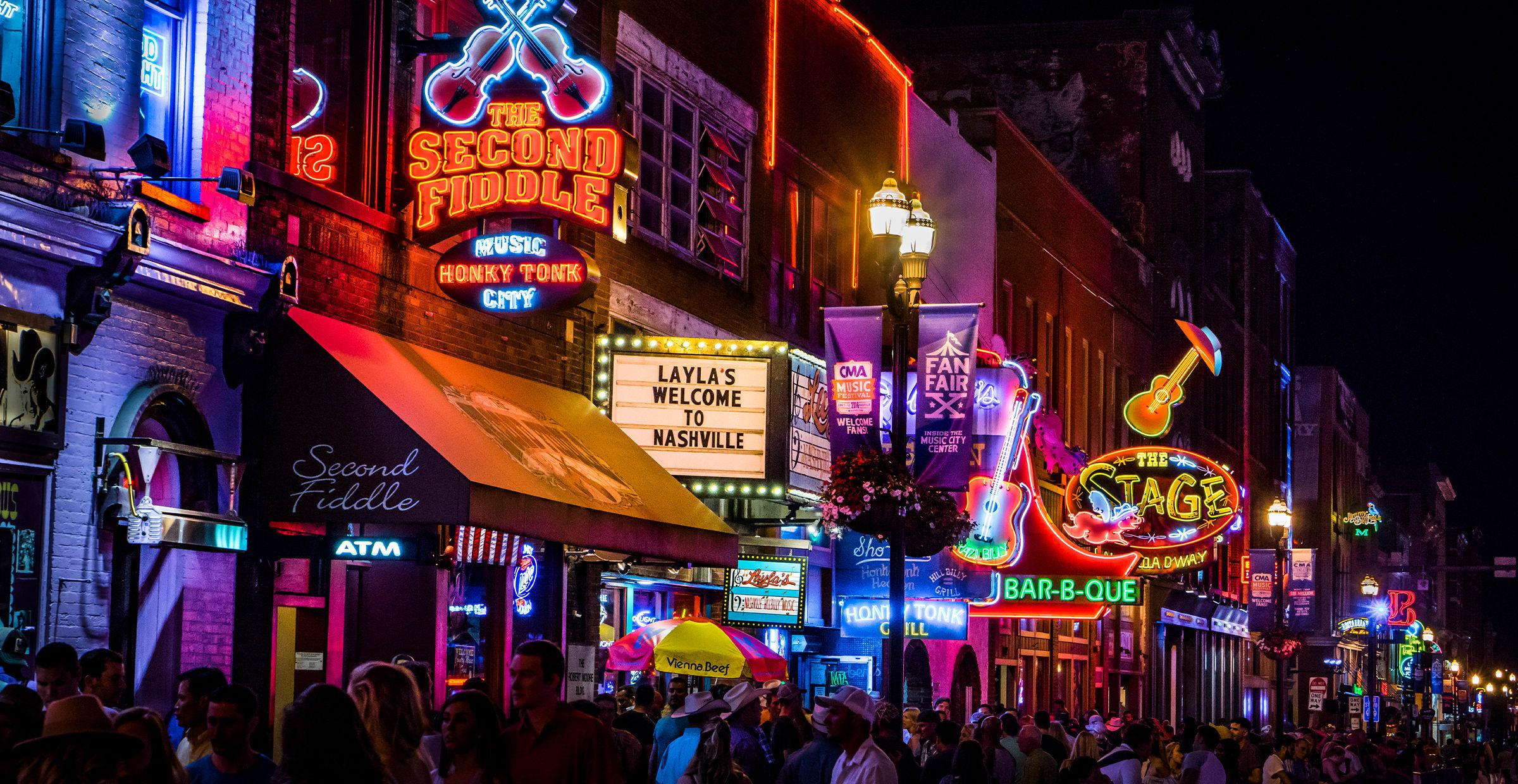 Music Row in Nashville