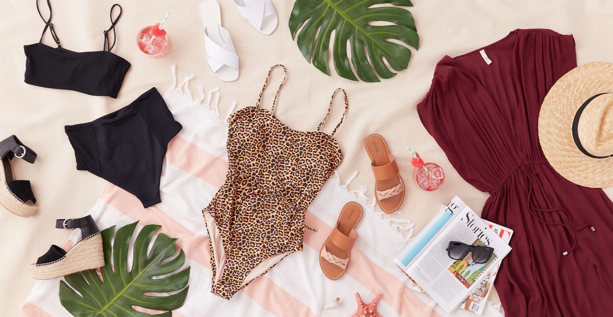 Swimsuit guide spring outfits