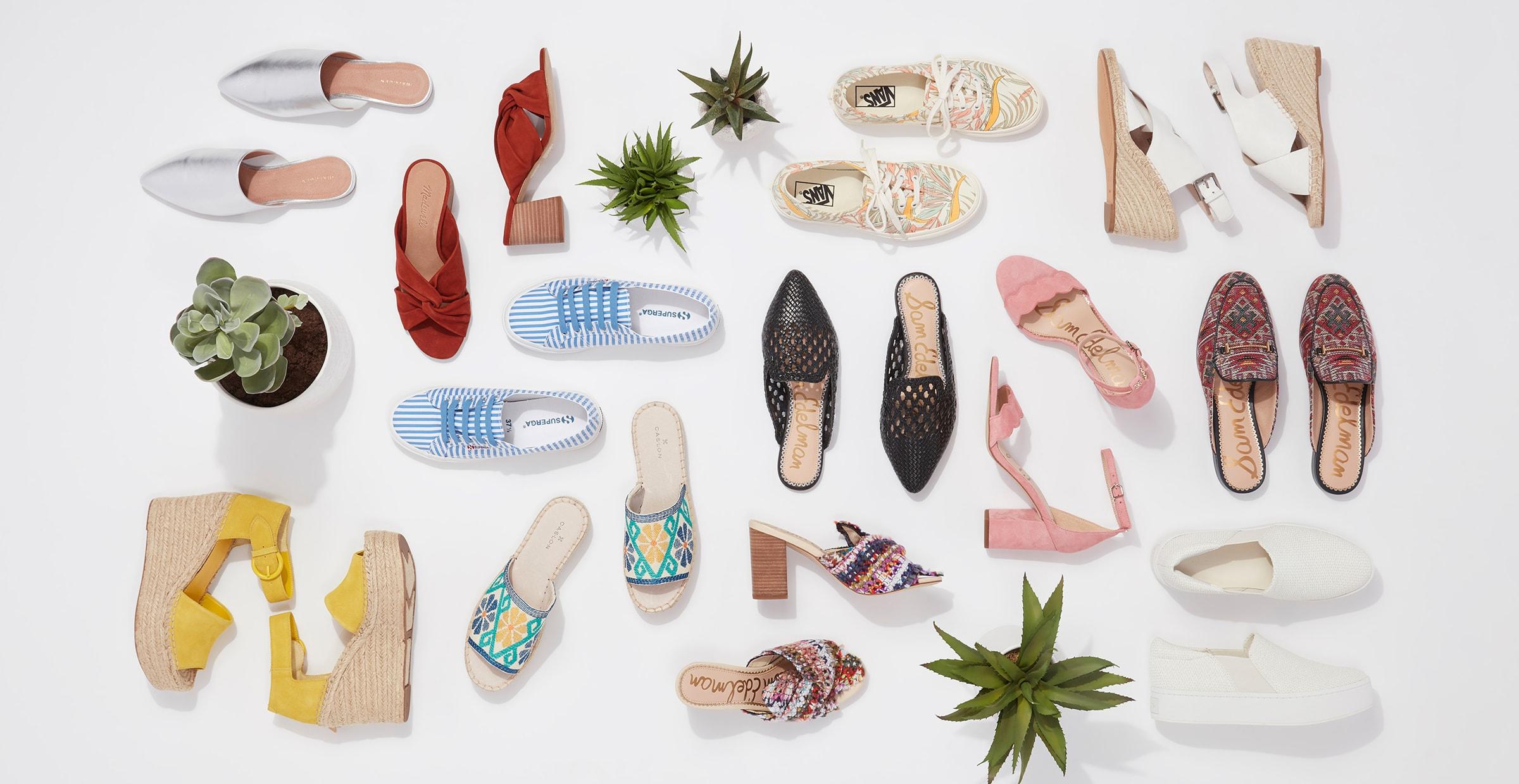 stylish summer shoes