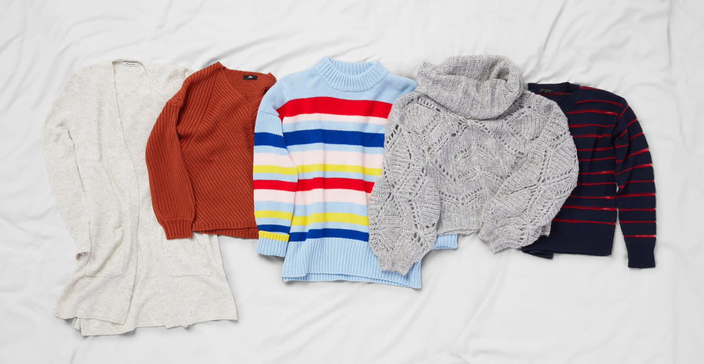 How to Wear Fall's Best Sweaters