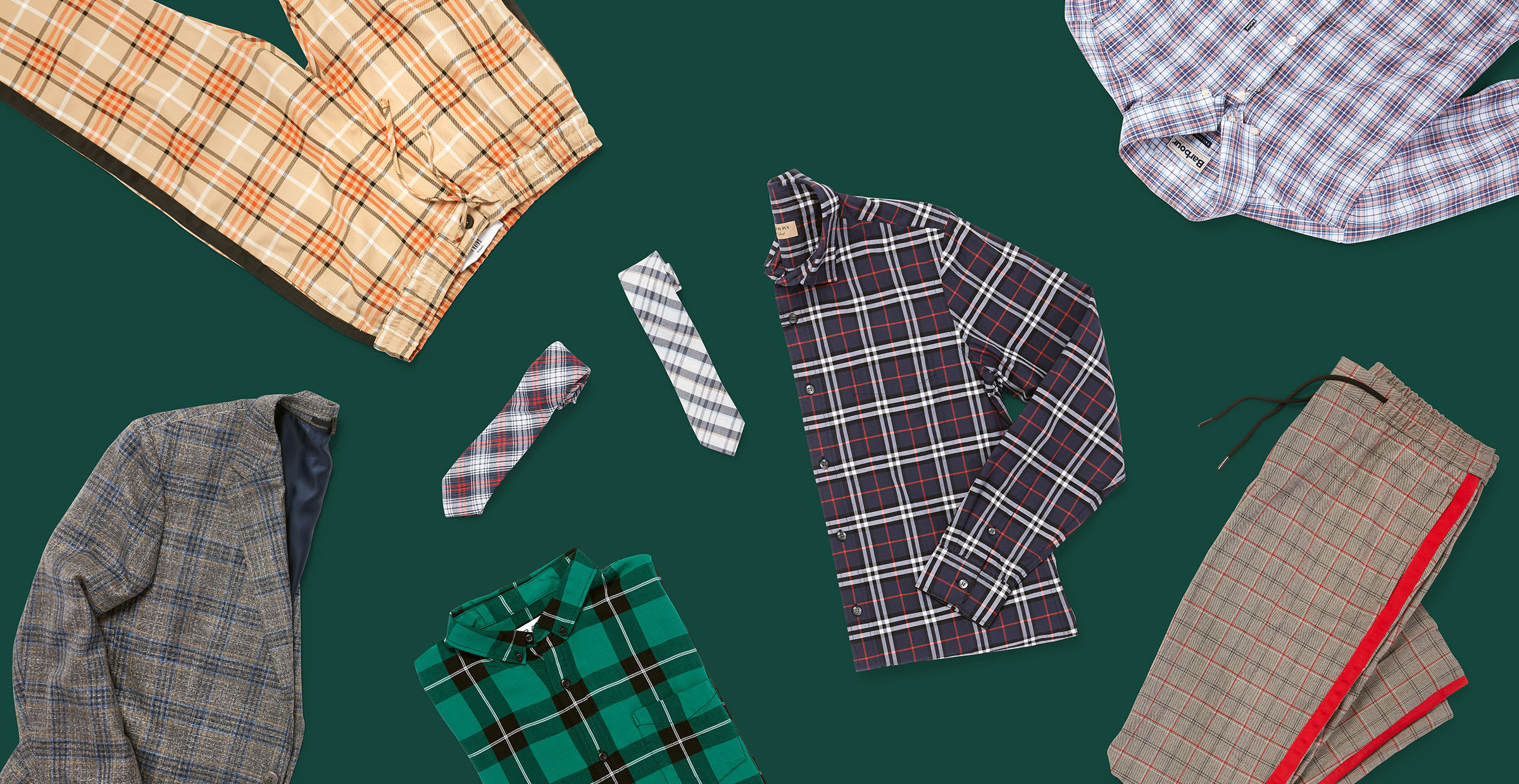 A Men's Guide to Wearing Plaid
