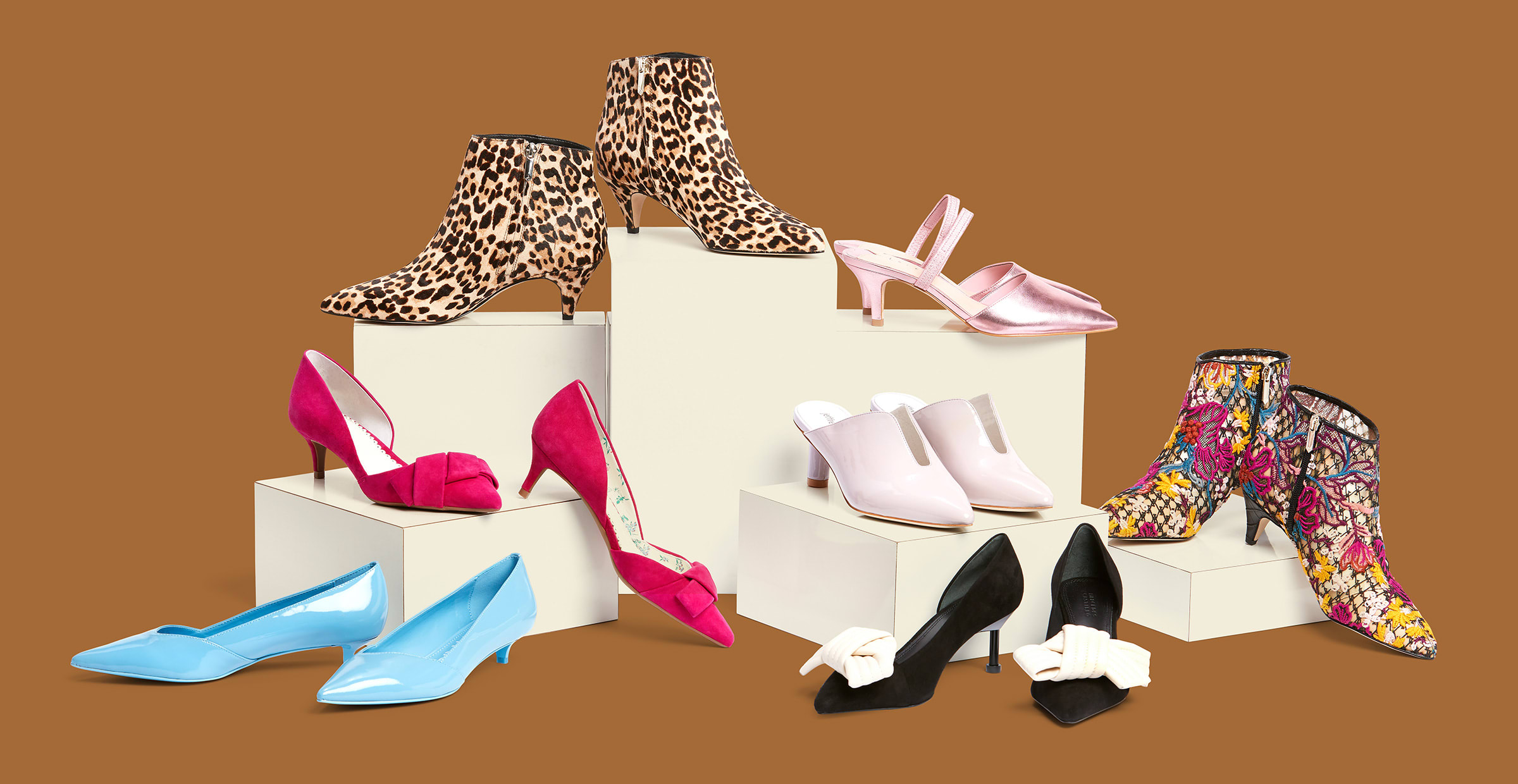 The Stylish Return of the Kitten Heel