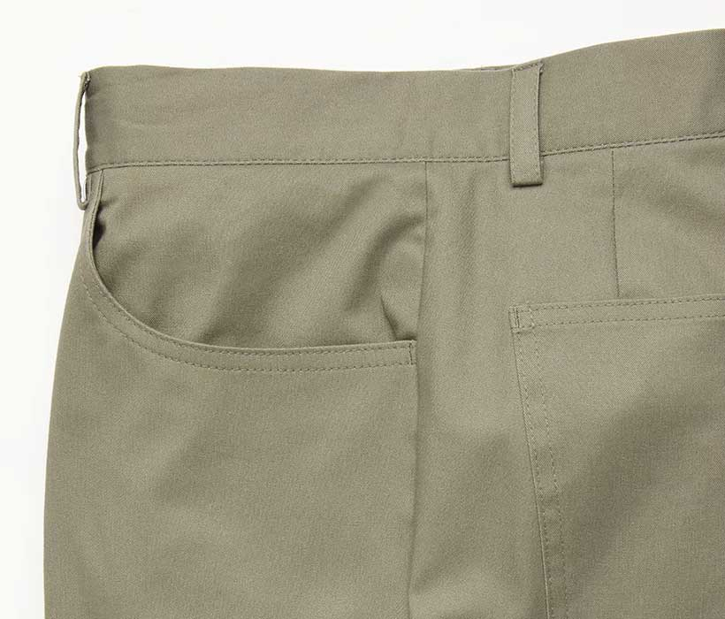 Five-pocket chinos in stretch cotton