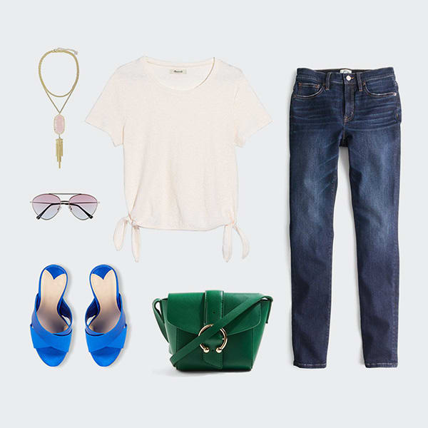 Trendy outfit for mom