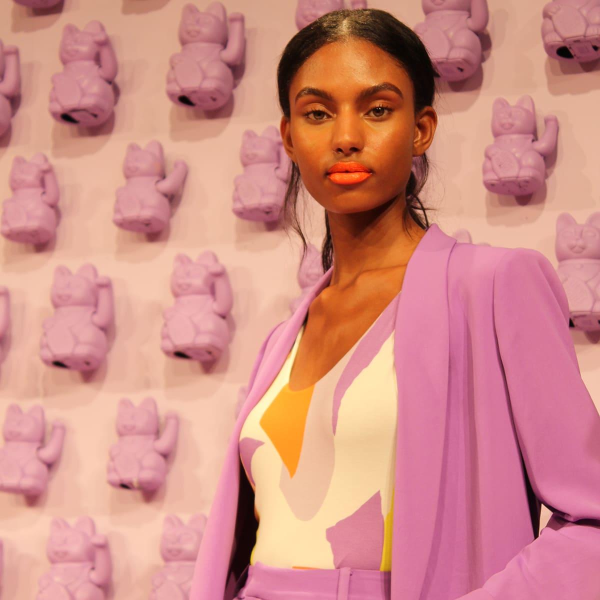New York Fashion Week Model