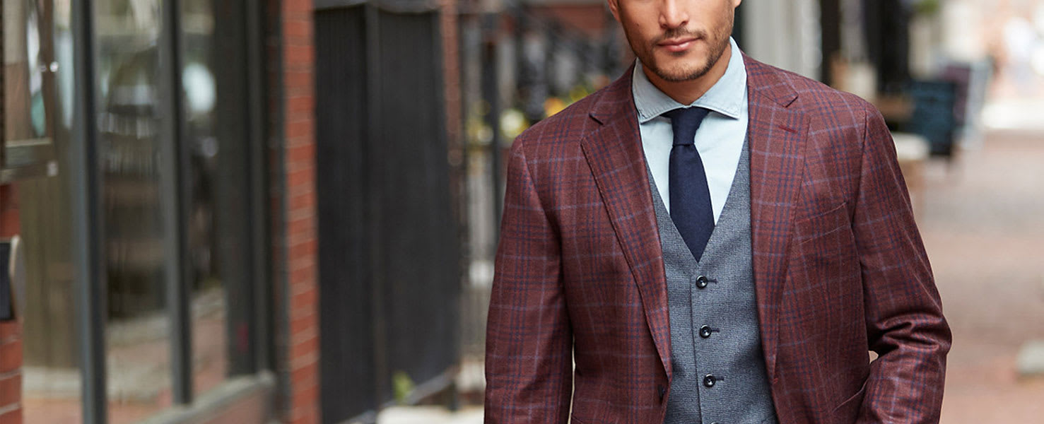 Men's Custom and Tailored Suits