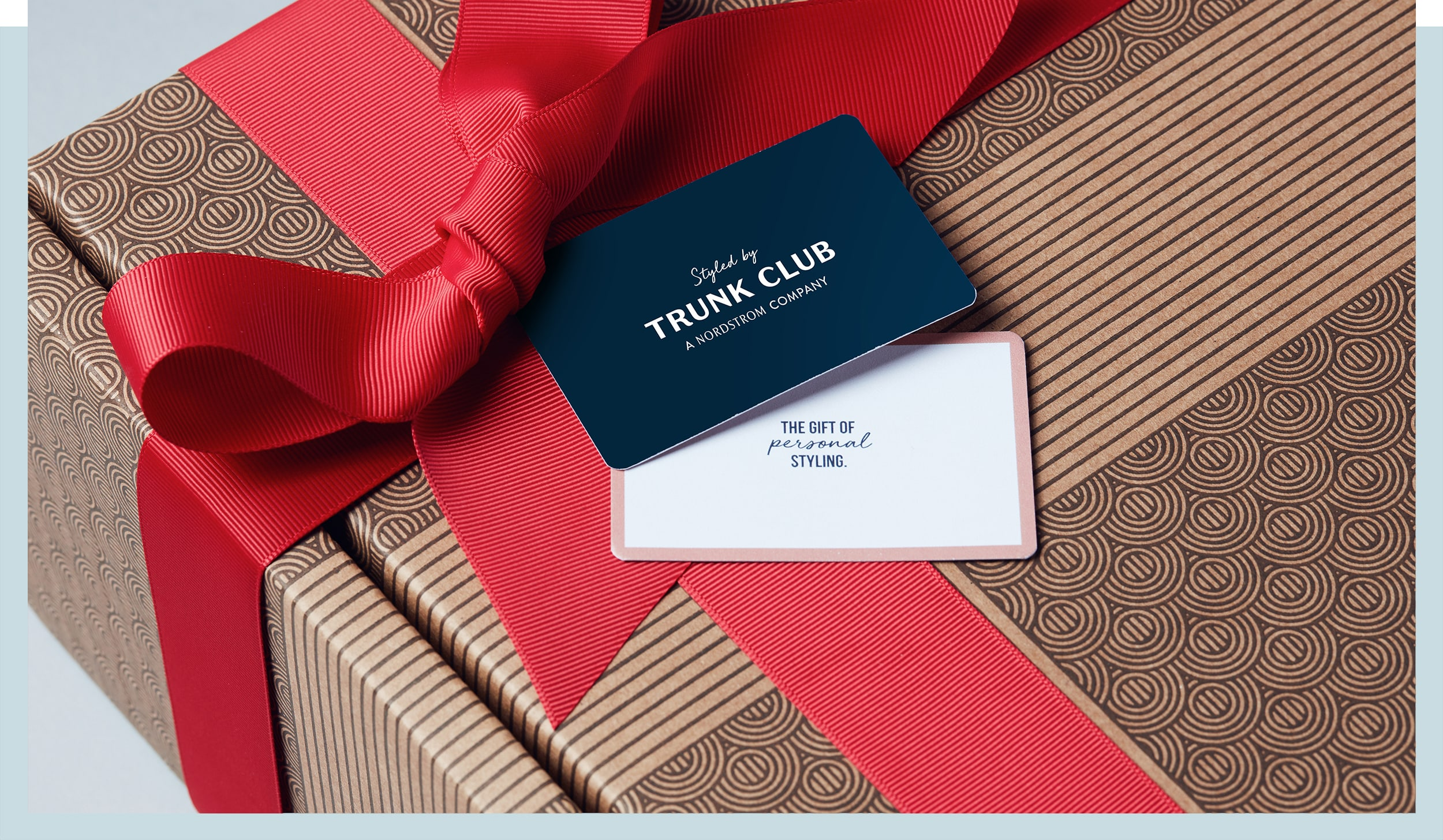 Trunk Club gift card.