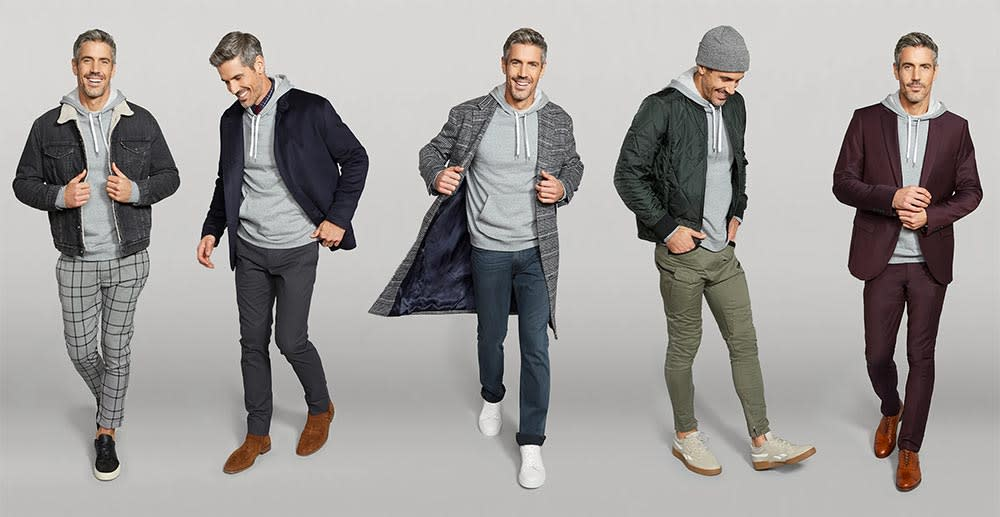 5 Ways to Wear a Hooded Sweatshirt