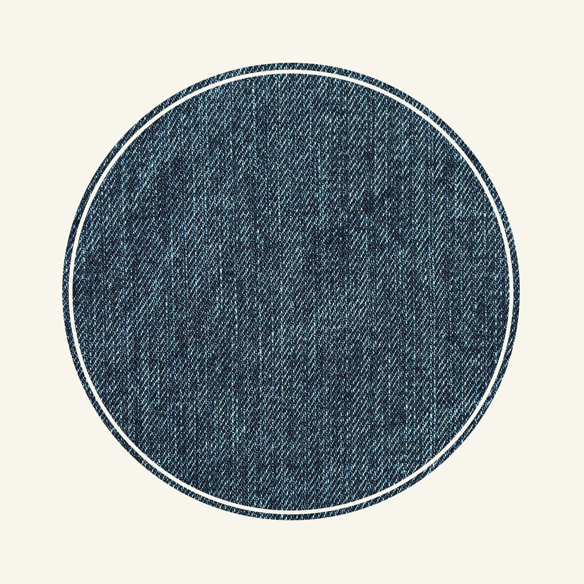 Denim swatch.