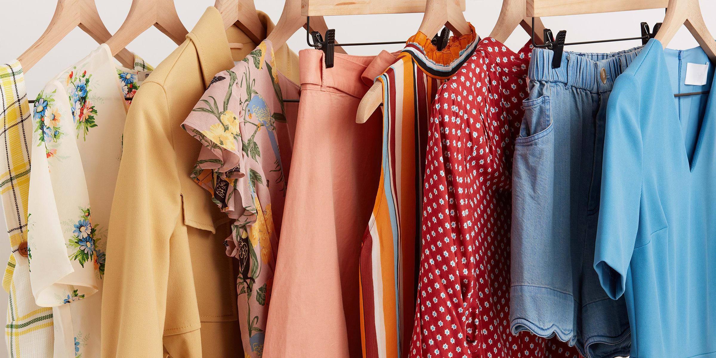 Rack of cloths.