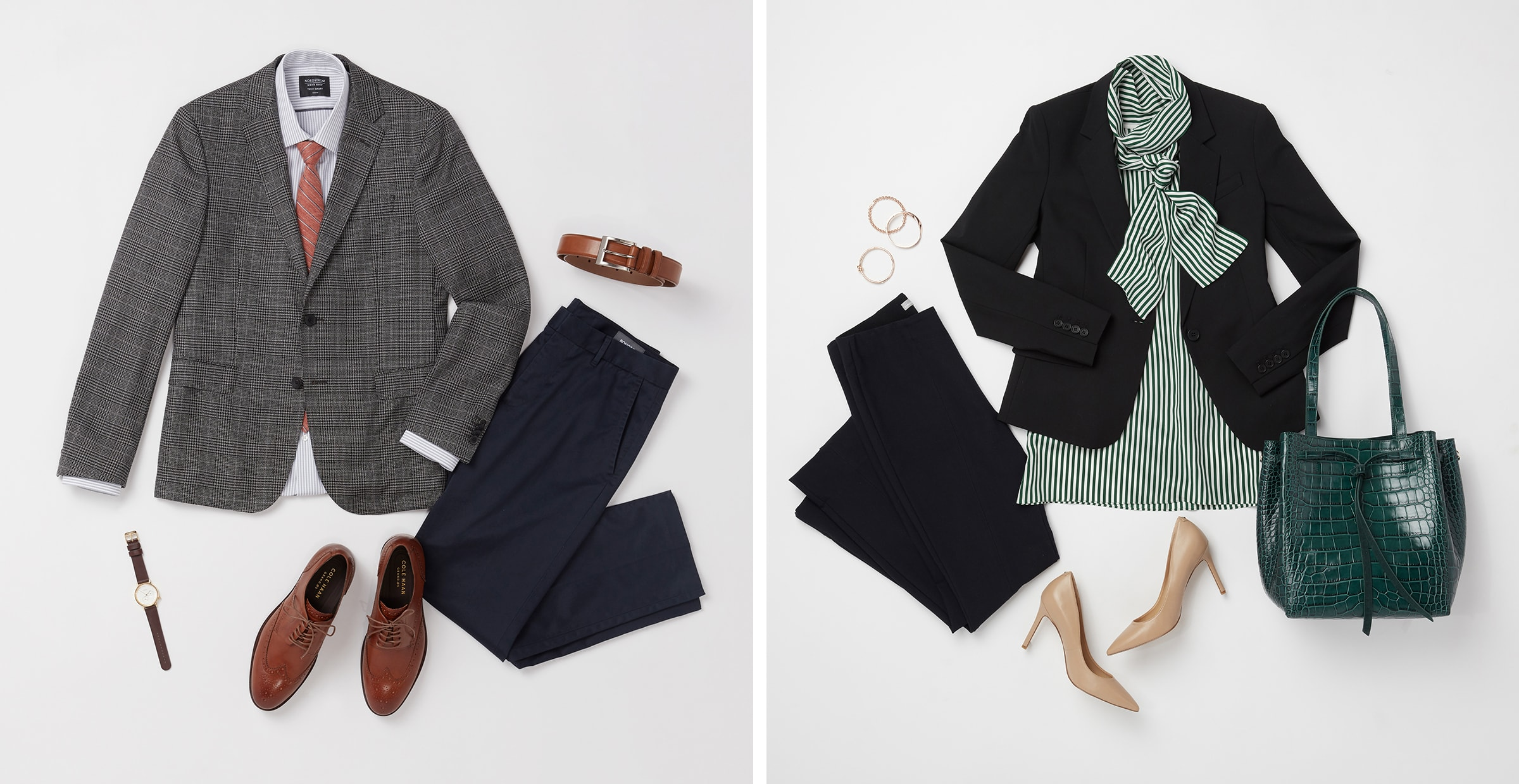 mens and womens interview outfits