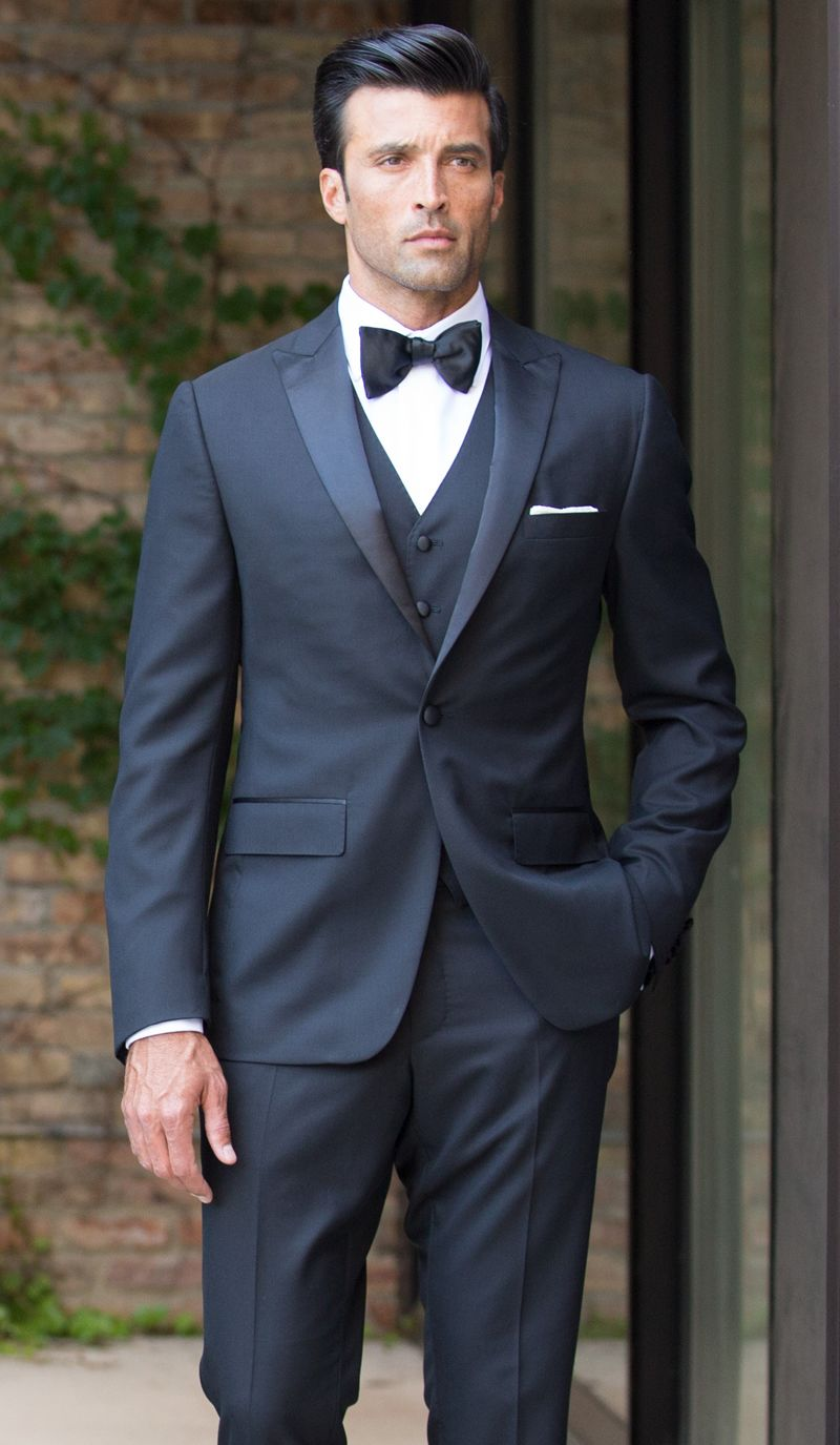 Formal look - three piece suit.